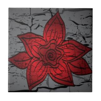Cracked bud tiles