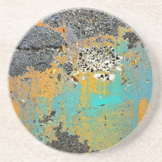 Cracked Concrete Series Drink Coaster