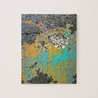 Cracked Concrete Series Jigsaw Puzzle