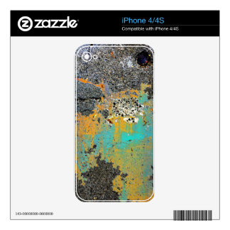 Cracked Concrete Series Skins For iPhone 4