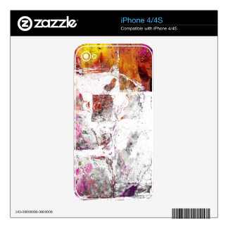Cracked Concrete Series Skins For The iPhone 4S