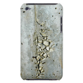 Cracked concrete wall with small stones Case-Mate iPod touch case