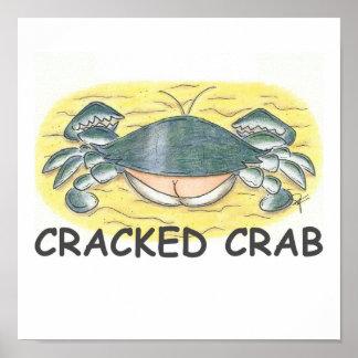 Cracked Crab Print