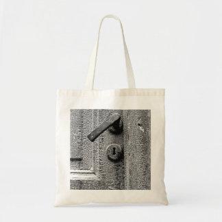 Cracked Door Tote Bag