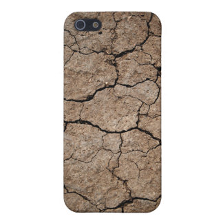 Cracked Dried Mud Cover For iPhone SE/5/5s