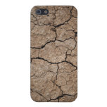 Cracked Dried Mud iPhone 5/5S Cases