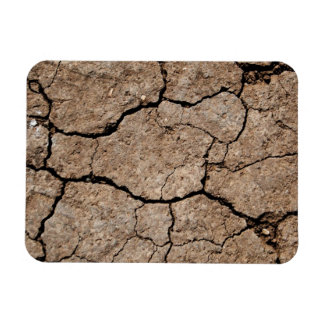 Cracked Dried Mud Magnet