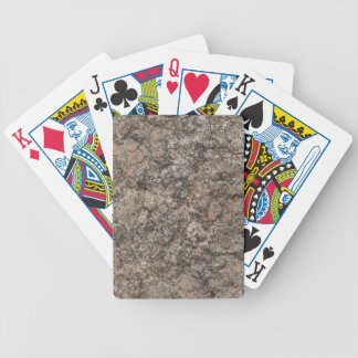 Cracked Dry Desert Ground Floor Texture Background Bicycle Playing Cards