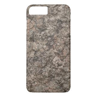 Cracked Dry Desert Ground Floor Texture Background iPhone 8 Plus/7 Plus Case