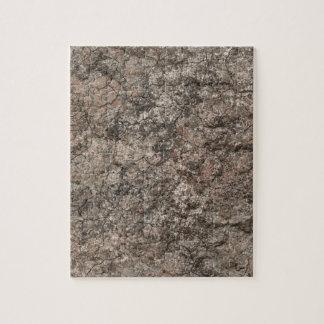 Cracked Dry Desert Ground Floor Texture Background Jigsaw Puzzle