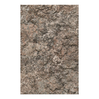 Cracked Dry Desert Ground Floor Texture Background Stationery