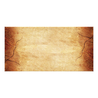 CRACKED EARTH CLAY TEXTURES ABSTRACT RANDOM TEMPLA PICTURE CARD