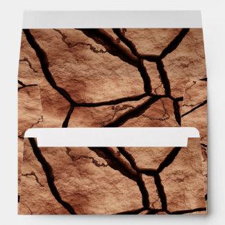 Cracked Earth Envelope