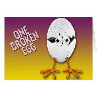 cracked egg 2 card