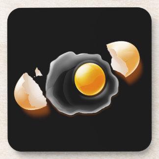 Cracked Egg Beverage Coaster