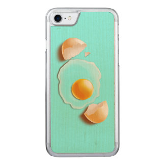 Cracked Egg Carved iPhone 7 Case