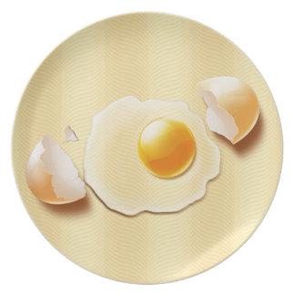 Cracked Egg Dinner Plate