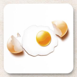 Cracked Egg Drink Coaster