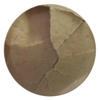 """Cracked Egg melamine dish 10"""" (limited Edition)"""