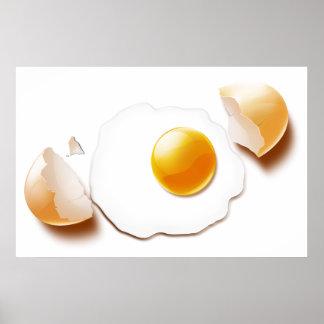 Cracked Egg Poster