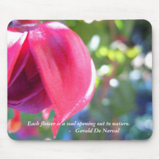 Cracked Fuschia - Soul Quote Mousepad