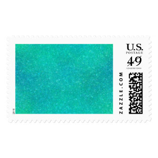 Cracked Glass Postage Stamp