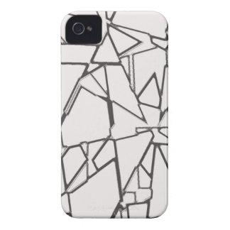 Cracked Glass Shards iPhone 4 Case