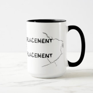 Cracked Greasy Thumb Print Mug
