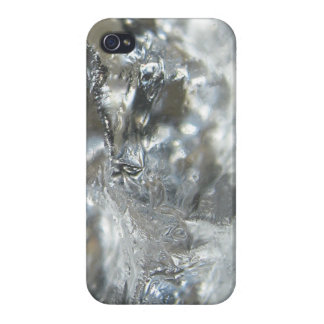 Cracked Ice Print iPhone 4/4S Cover