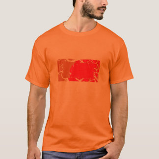 cracked image, dapped pattern, faded, hole mess... T-Shirt