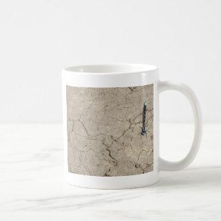 cracked insect coffee mug