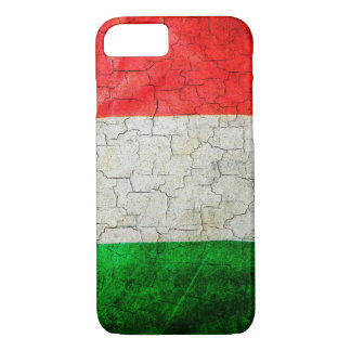 Cracked Italy flag iPhone 8/7 Case