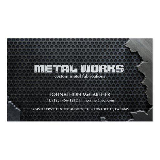 1 000 Aluminum Business Cards and Aluminum Business Card