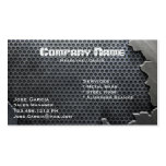 Cracked Metal Double-Sided Standard Business Cards (Pack Of 100)