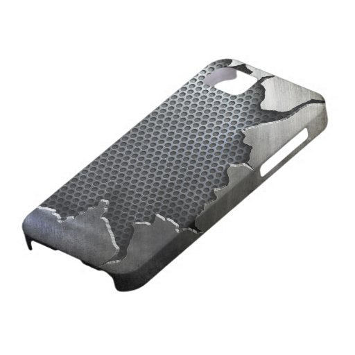 Cracked Metal iPhone 5,  iPhone 5 Covers