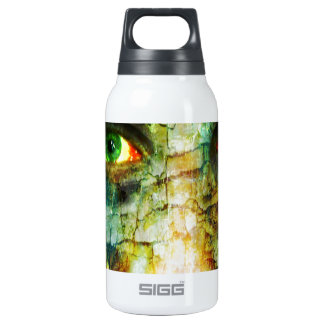 cracked mind insulated water bottle