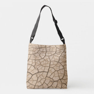 Cracked Mud Crossbody Bag