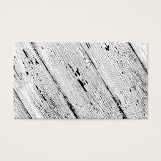 Cracked Paint Pattern Black And White Business Card