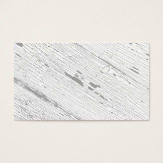 Cracked Paint Pattern Gray And White Business Card