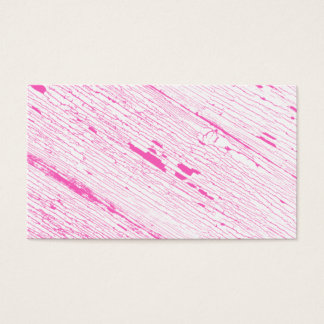 Cracked Paint Pattern Pink And White. Business Card