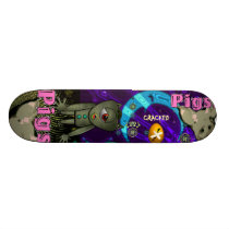 Cracked Pigs Skateboard
