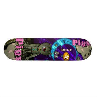 Cracked Pigs Skateboard