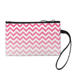 Cracked Pink Ombre Zigzag Coin Purse