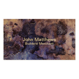 Cracked Plaster Business Card