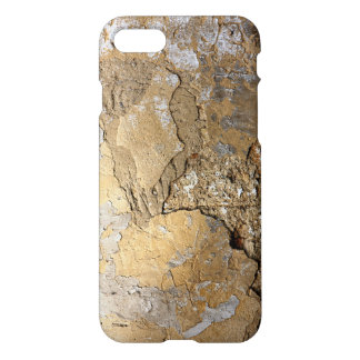 Cracked plastered wall. iPhone 7 case