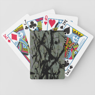 CRACKED DECK OF CARDS