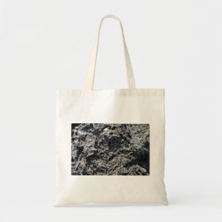 Cracked Rock Cliff Texture Canvas Bag