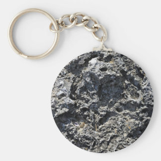 Cracked Rock Cliff Texture Keychains
