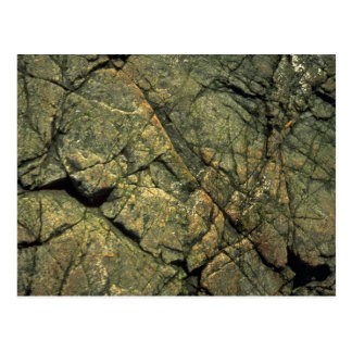 Cracked rock face post cards