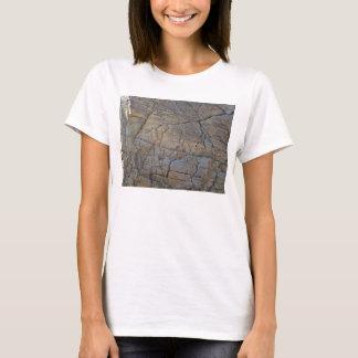 Cracked Rock texture T-Shirt